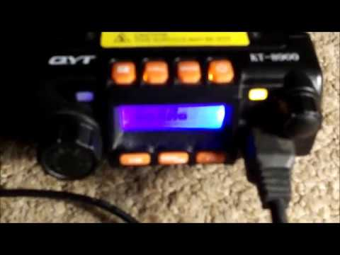 QYT KT 8900 POWER LOSS ON VHF AND UHF