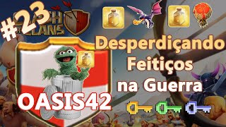Clash of Clans HD Parte 23 - Centro de Vila 7 (CV7): Desperdiçandos Feitiços - Guerra dos Clans