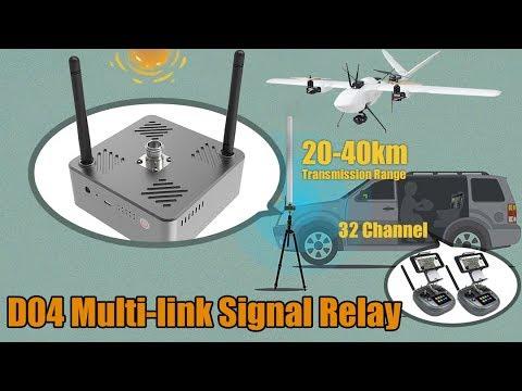 20-40km Transmission Range 32Channel Signal Relay