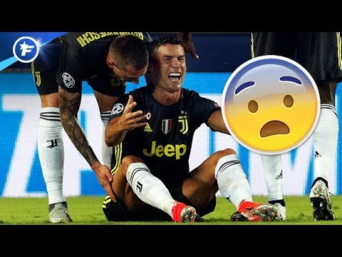 Les larmes de Cristiano Ronaldo après l'expulsion polémique en Ligue des Champions   Revue de presse