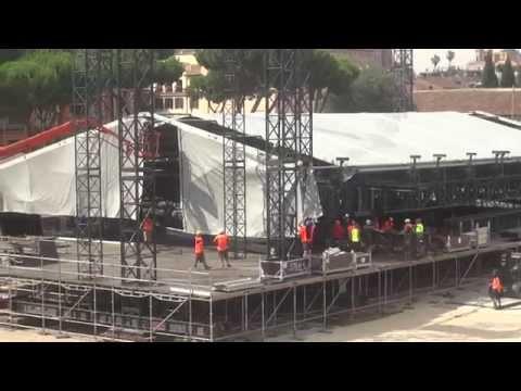 Rolling Stones Roma Circo Massimo 22 Giugno 2014 - Concerto Montaggio