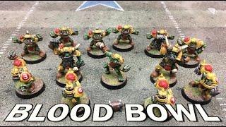 Throwback Thursdays Ep 75 - Blood Bowl (LRB6) - Orcs vs. Wood Elves