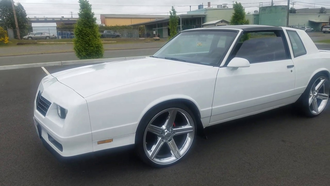 Monte Carlo Ss On 22inch Iroc Wheels Youtube