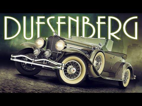 DUESENBERG - История Величайших Американских Автомобилей