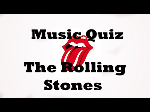 Music Quiz - The Rolling Stones