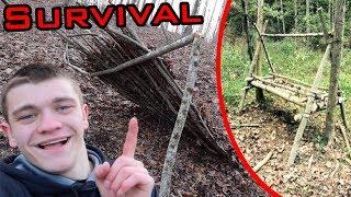 SURVIVAL SHELTER CHALLENGE!