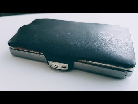 """i-Clip Kreditkartenetui oder """"Der wohl modernste Geldbeutel"""""""