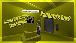 Roblox Big Brother (Sue Edition) | Episode Two | Pandora's Box?