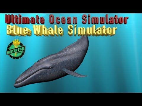 """🐋🌊🏝Ultimate Ocean Simulator- """"Blue Whale Simulator""""-Part 16 -By Gluten Free Games-IOS/Android"""