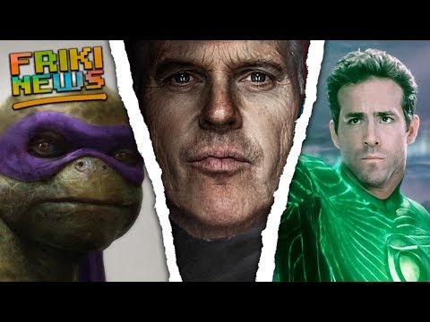 MICHAEL KEATON VUELVE A BATMAN Y RYAN REYNOLDS SERA GREEN LANTERN? Reboot TMNT, Fantastic 4 Y X-Men!