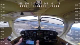Landing at New River Valley Airport (KPSK)