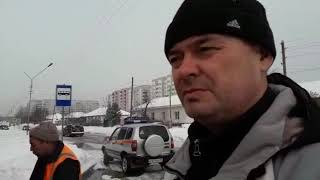 Фекальные воды затопили улицу Рогачёва в Бердске