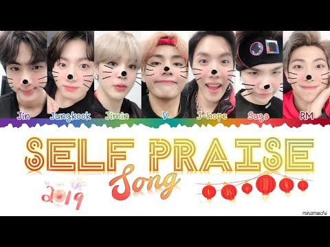 BTS (방탄소년단) - Self Praise Song (Lyrics) [Han_Rom_Eng] | minamochi