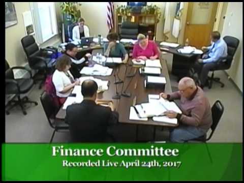 2017-04-24 Finance Committee
