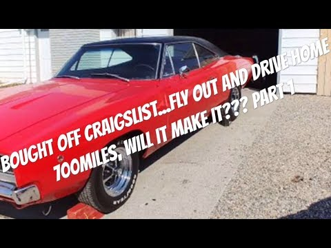 1968 Dodge charger Craigslist find, will it make the 700