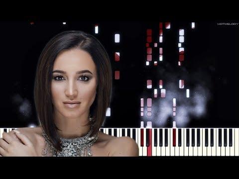 Ольга Бузова - Я еще верю | Как играть на пианино | Караоке