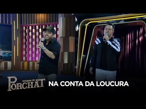 Bruno & Marrone cantam seus sucessos no palco do Porchat