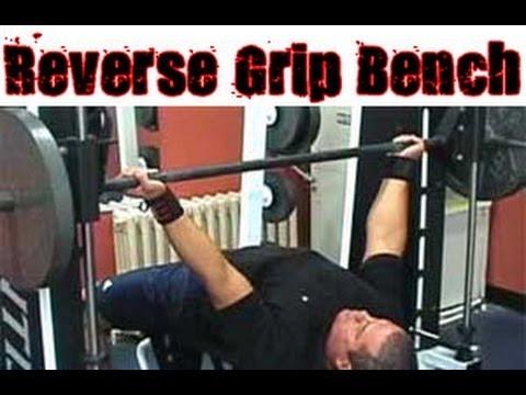 Reverse Grip Bench Press Technique Youtube