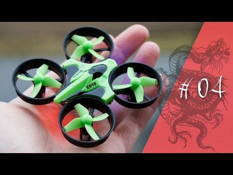 EaChine E010 Drohne unter 15€ - China in the box // deutsch // in 4K // #004