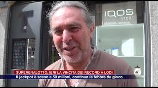 Etg - Superenalotto, ieri la vincita dei record a Lodi. Il jackpot è sceso a 50 milioni