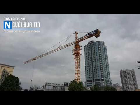 Dự án Golden Park Tower: Tiềm ẩn nguy cơ xảy ra tai nạn kinh hoàng cho người tham gia giao thông