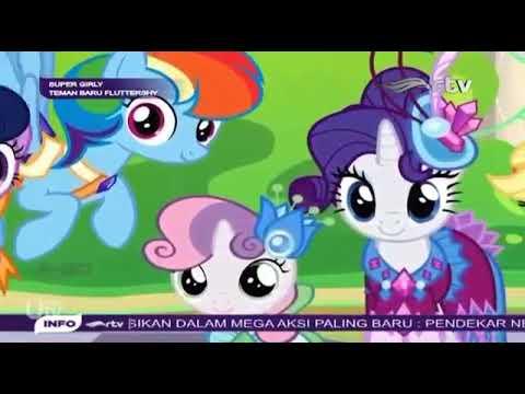 my little pony bahasa indonesia teman baru fluttershy - youtube