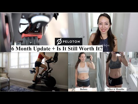 Peloton Before & After 6 Month Results + Is It Still Worth It?