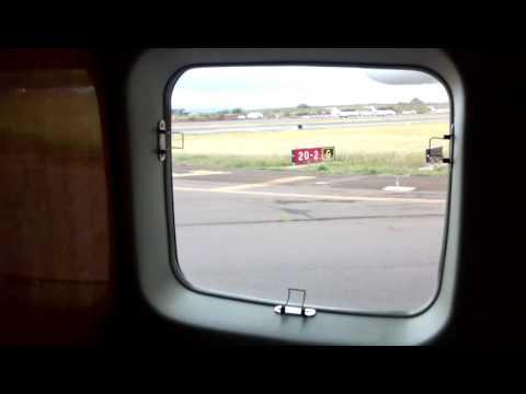 Maui Hawaii- take off to Big Island - mokulele airlines 2015