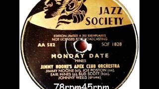 A Monday Date   Jimmy Noone