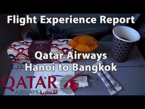 Trip Report : Qatar Airways | Boeing 777 | Hanoi to Bangkok | HAN - BKK | QR835 | Economy