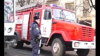 пожар на Измайловском валу г.Москва