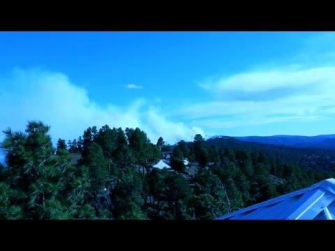 Ruidoso, NM Fire Moon Mountain
