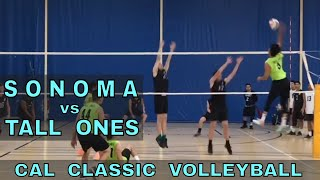 Sonoma State vs Tall Ones - Cal Classic Volleyball Tournament (11/10/18)
