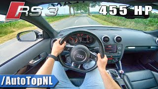 455hp AUDI RS3 8P 2.5 TFSI TVS Engineering POV Test Drive by AutoTopNL