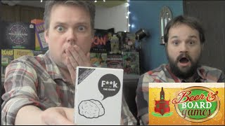 F**k - The Game - Beer and Board Games