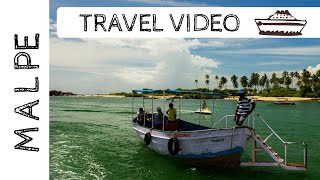 MALPE BEACH UDUPI TRAVEL VIDEO   ONE OF THE BIGGEST FISHING DOCKS IN INDIA