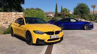 """BMW Individual shows us their M3/M4 """"Skittles"""""""