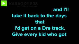 The Monster ~ Eminem, ft Rihanna Karaoke Version ~ Karaoke 808