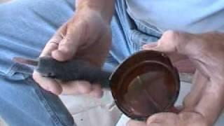 Flintknapping - Beginners part 4