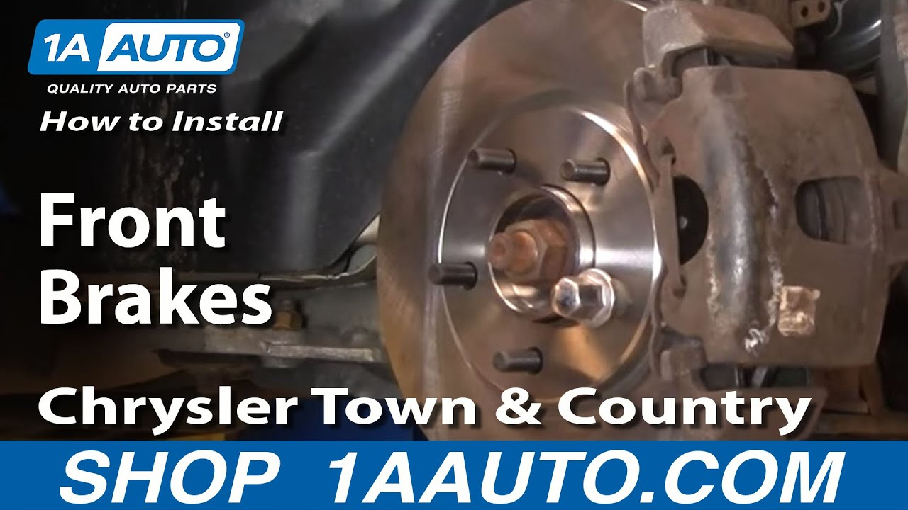 How to Replace Brakes 01-07 Chrysler Town & Country