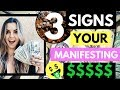 3 Signs Your Financial Breakthrough Money Manifestation Is NEAR!!! (The Law of Attraction)