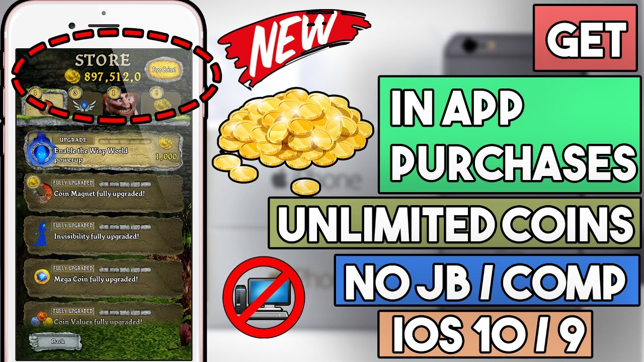 Get In App Purchases For Free No Jailbreak Ios 10 – Wonderful Image