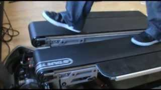 Star Trac: TreadClimber® Walking Belt Tensioning and Tracking