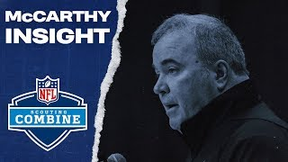 NFL Combine Update: Mike McCarthy Insight | Dallas Cowboys 2020