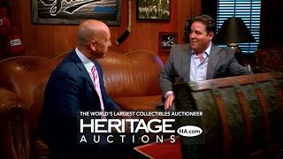 Heritage Auctions' Chris Ivy appears on the show A Piece of the Game