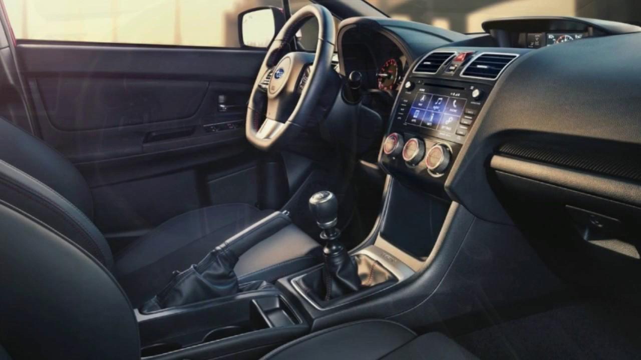Exceptional 2017 Subaru WRX Interior