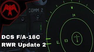 DCS F/A-18c Hornet RWR Update 2