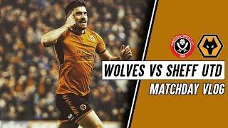 NUNO HAD A DREAM - Wolves 3-0 Sheffield United VLOG