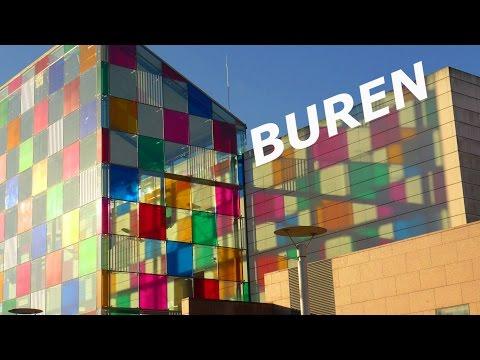 """""""Daniel Buren"""" Le Musée d'Art Moderne et Contemporain de Strasbourg"""