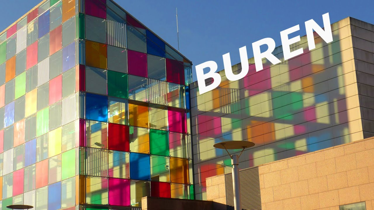 Daniel buren le mus e d 39 art moderne et contemporain de strasbourg youtube - Musee d art moderne strasbourg ...